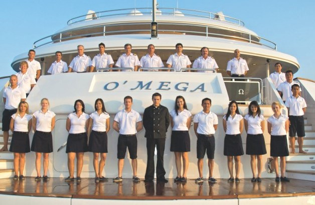 how to become professional yacht crew